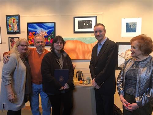 COUNCIL ROCK NORTH STUDENT ARTIST RECOGNIZED WITH CONGRESSIONAL AWARD