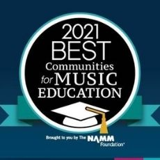 COUNCIL ROCK DESIGNATED AS 2021 BEST COMMUNITY FOR MUSIC EDUCATION