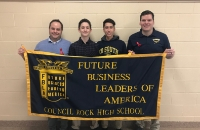 COUNCIL ROCK SOUTH STUDENTS QUALIFY FOR FBLA NATIONAL COMPETITION