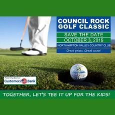 SAVE THE DATE: COUNCIL ROCK GOLF CLASSIC PRESENTED BY CREF