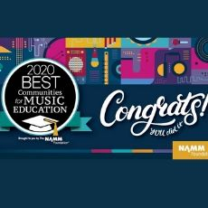 COUNCIL ROCK NAMED 2020 BEST COMMUNITY FOR MUSIC EDUCATION