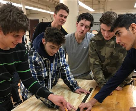 CR NORTH COMBINED CLASSES CREATE TECH PROJECTS