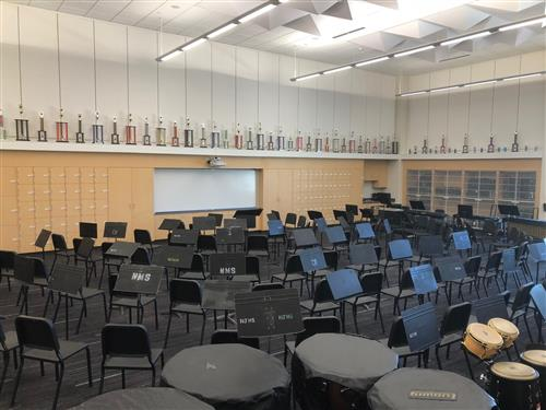 NMS Band Room