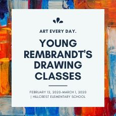Click to find out more about signing your student up for the winter session of Young Remembrandts!