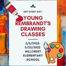 YOUNG REMBRANDTS DRAWING CLASSES SIGN-UP