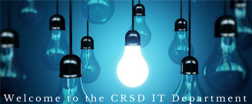 Welcome to the CRSD IT Department page