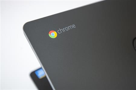 image of chromebook computer