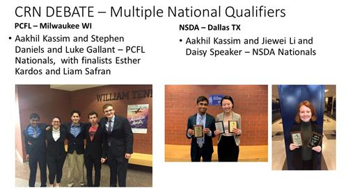 Multiple National Qualifiers!