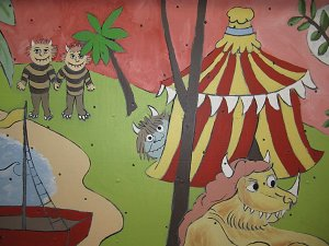 Art Department Where the Wild Things Are Mural