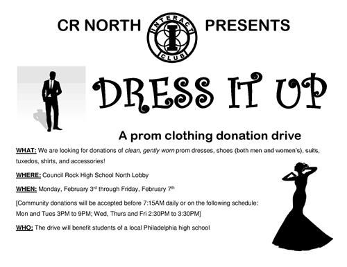 Prom Clothing Donation