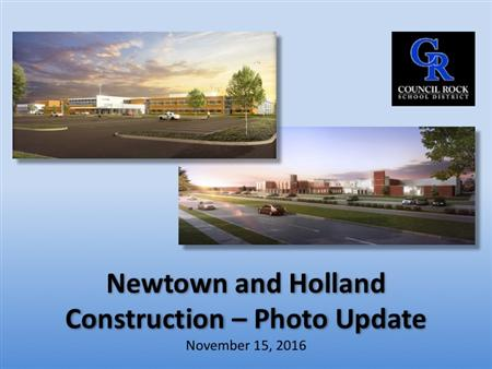 Newtown and HMS update