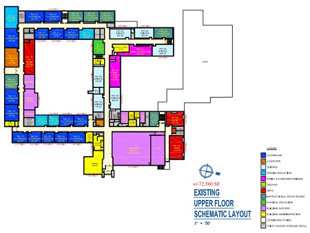 Old Site Plan