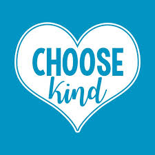 "This is a picture of heart with the words ""choose kind"""
