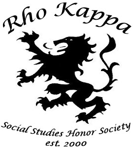 Rho Kappa Social Studies Honor Society