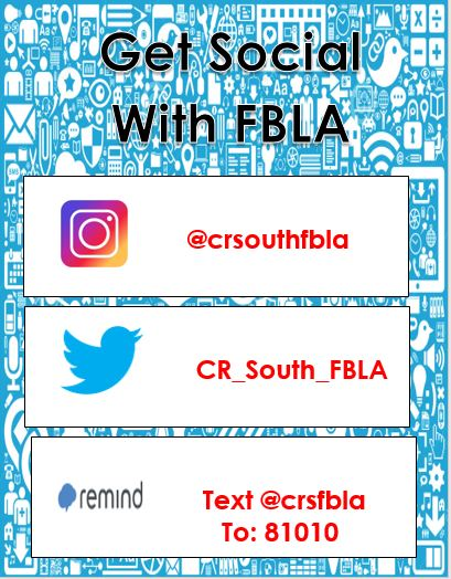 Get Social With FBLA