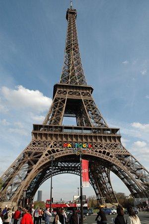 La Tour Eiffel en couleur