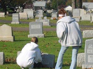 Reading Gravestone