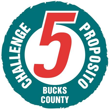 Challenge 5 Bucks County Logo