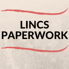 LINCS PAPERWORK FOR THE 2019-2020 SCHOOL YEAR ACTIVITIES IS DUE BY MAY 1 FOR SENIORS AND MAY 15 FOR UNDERCLASSMEN