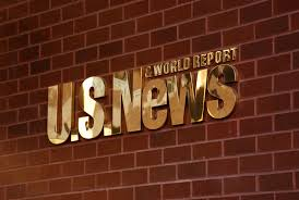 US News and World Report Sign