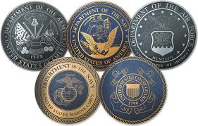 Armed Services Crests