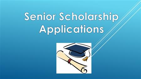 Senior Scholarship Applications