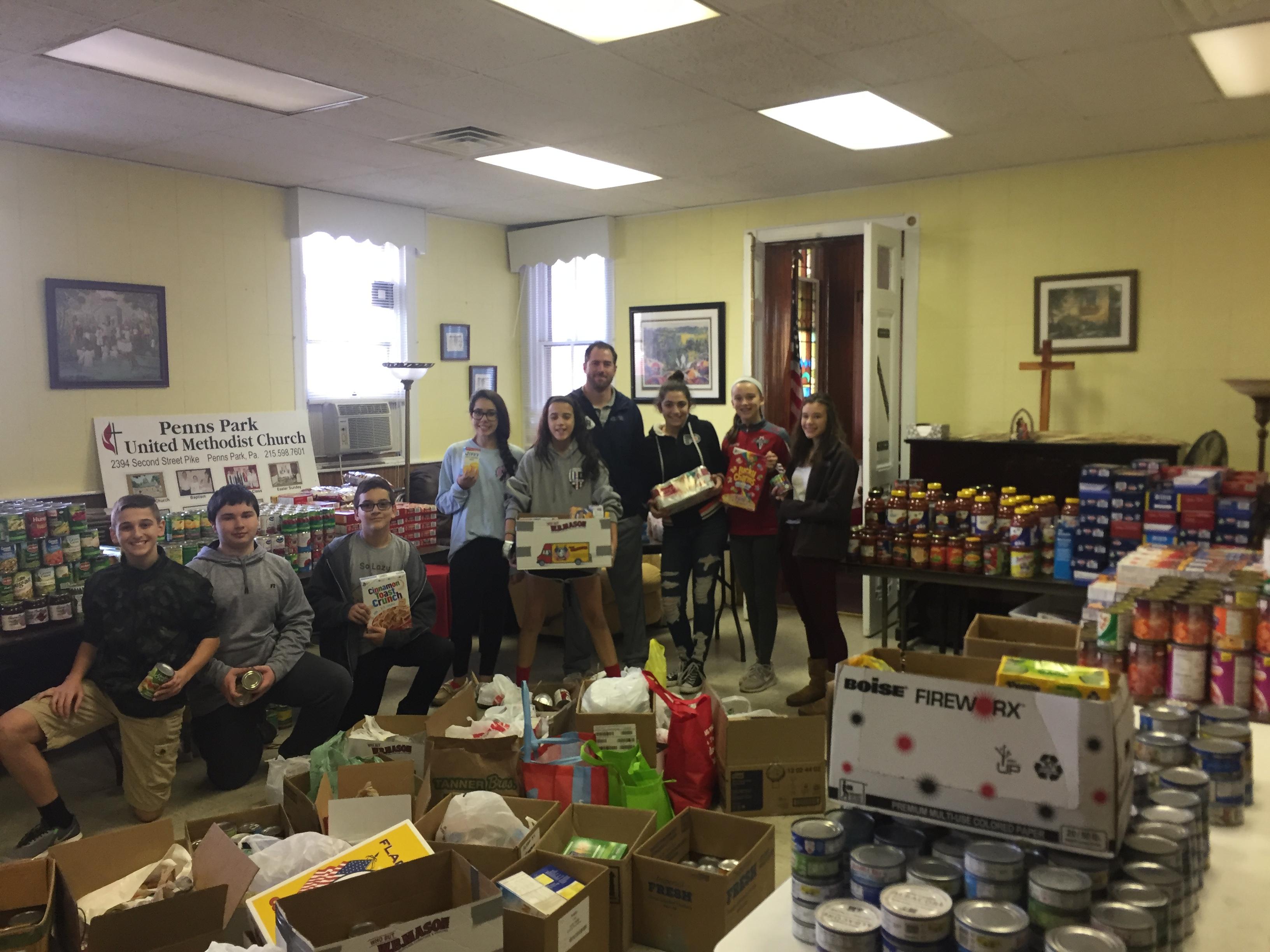 2017 canned food drive