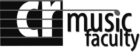 CR Music Faculty Logo